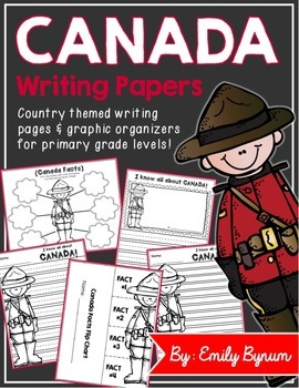 Canada Writing Papers (A Country Study)