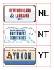 Canada or Bust! Capitals, Abbreviations, and License Plate