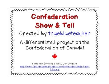 Canada's Confederation Show & Tell