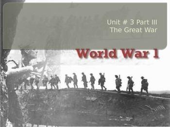 Canada's Involvement in WWI