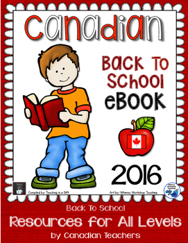 Canadian Back To School eBook 2016