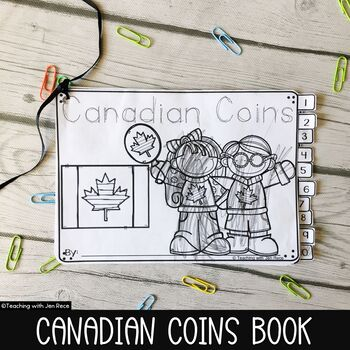 Canadian Money - Coins Student Activity Booklet (Preschool