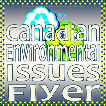 Canadian Environmental Issues Flyer