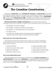 Canadian Government: The Canadian Constitution Gr. 5-8