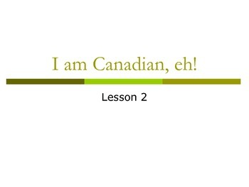 Canadian History Introduction