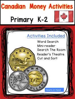 Canadian Money Activities K-2