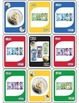 Canadian Money Math Identification Card Game - Like UNO