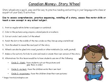 Canadian Money Story Wheel