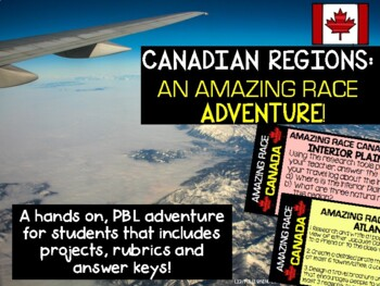 Canadian Regions: Amazing Race Style!
