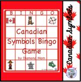 Canadian Symbols Bingo