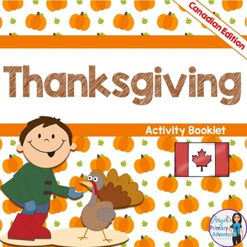 Canadian Thanksgiving Activity Booklet