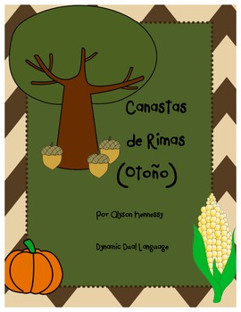 Canastas de Rimas (Baskets of Rhyming Words) SPANISH