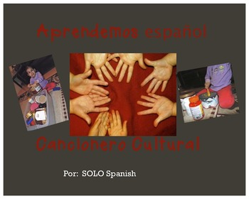 Spanish songs /Cancionero Cultural /Learning Spanish throu