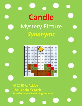 Candle Mystery Picture Synonyms