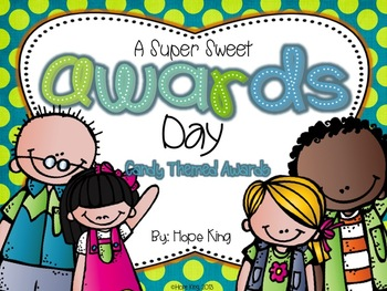 Candy Awards: 20 Super Sweet Awards & Poems for End of Yea