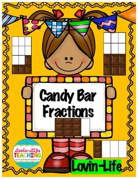 Candy Bar Fractions-FUN! Activity and Interactive, NO PREP
