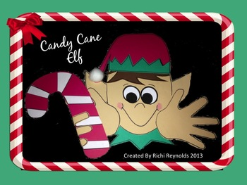 Candy Cane Elf Craft