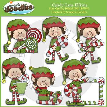 Candy Cane Elfkins