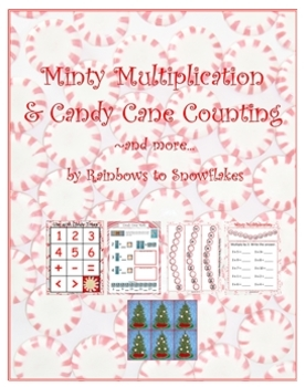 Candy Cane Math Practice and Activities for K-3