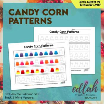 Candy Corn Patterning Sheet