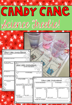 Candy Cane Science Freebie