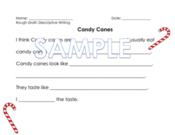 Candy Cane writing prompt