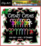 Candy Canes Clip Art