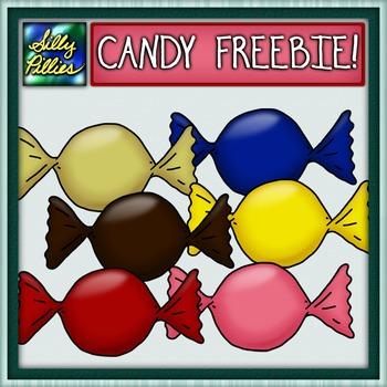 Candy Clip Art FREEBIE - Pilly Present