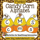 Alphabet - Candy Corn Alphabet
