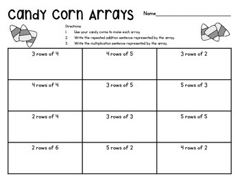 Candy Corn Arrays
