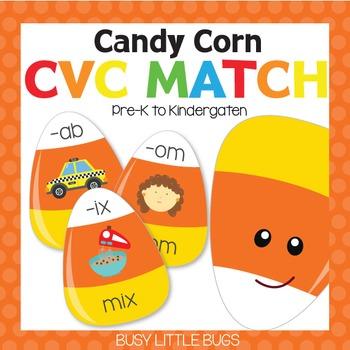 Candy Corn CVC Match