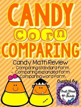 Candy Corn Comparing (Candy Math)