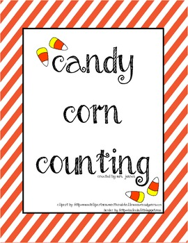 Candy Corn Counting 1:1 Correspondence