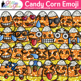 Candy Corn Emoji Clip Art - Emoticons and Smiley Faces - H