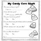 Candy Corn Glyph and Craftivity