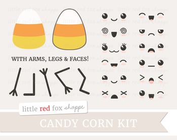 Candy Corn Kit Clipart