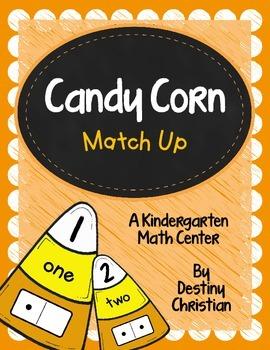 Candy Corn Match Up: A Kindergarten Math Center