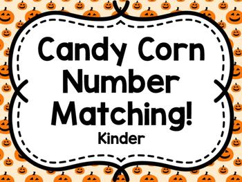 Candy Corn Matching Game (Kinder)