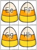 Candy Corn Matching- Uppercase and Lowercase Letter Matching