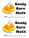 Candy Corn Math Book