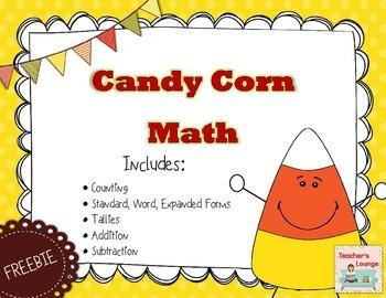 Candy Corn Math FREEBIE