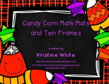 Candy Corn Mats and Ten Frames