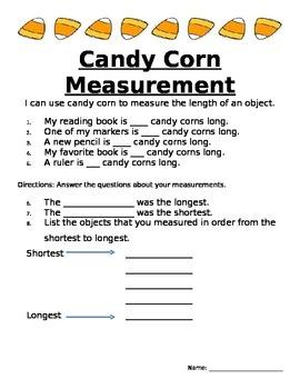 Candy Corn Measurement