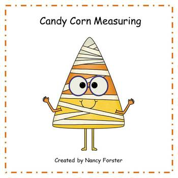 Measurement Halloween Candy Corn Task Cards