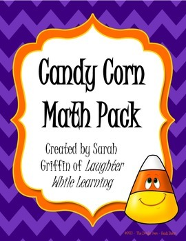 Candy Corn Math Pack for Autumn or Halloween