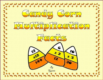 Candy Corn Multiplication Facts