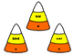 Candy Corn Nouns - Singular and Plural Nouns