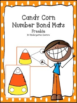 Candy Corn Number Bond Mats -Freebie