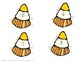 Candy Corn Number Count and Match
