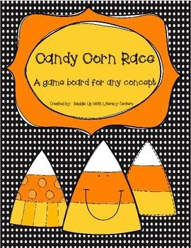 Candy Corn Race game board